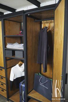 OLYMPUS DIGITAL CAMERA Pallet Deck Furniture, Welded Furniture, Loft Furniture, Steel Furniture, Furniture Design, Industrial Bedroom Design, Vintage Industrial Furniture, Industrial Style, Wardrobe Room