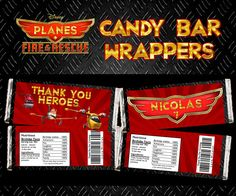 Disney's Planes Fire & Rescue Digital Chocolate Bar by PartyPC, $4.00