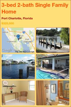 3-bed 2-bath Single Family Home in Port Charlotte, Florida ►$325,000 #PropertyForSale #RealEstate #Florida http://florida-magic.com/properties/2013-single-family-home-for-sale-in-port-charlotte-florida-with-3-bedroom-2-bathroom