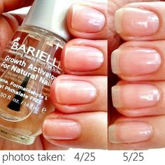 Barielle Growth Activator for Natural Nails #nails #growth #howto - bellashoot.com