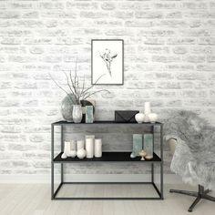 wallpaper for kitchen design ideas photos 23 best brick images future house diy realistische witte baksteen behang