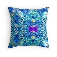 The Fractures Beneath Throw Pillow by Polka Dot Studio, Available as T-Shirts & Hoodies, Men's Apparels, Stickers, iPhone Cases, Samsung Galaxy Cases, Posters, Home Decors, Tote Bags, Pouches, Prints, Cards, Leggings, Pencil Skirts, Scarves, Kids Clothes, iPad Cases, Laptop Skins, Drawstring Bags, Laptop Sleeves, and Stationeries. #tie #dye #Bohemian #Indonesian #blue #geometric #art on #home #fashion #decor for #living room, #bedroom, #apartment or original #gift.