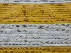 Duckie baby blanket - close up
