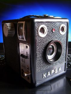 Câmeras Antigas - Multimarcas: Kapsa Pinta Vermelha