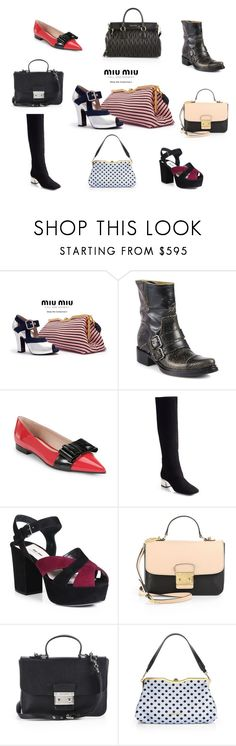 """Miu Miu Fall 2013 Runway"" by saks ❤ liked on Polyvore featuring Miu Miu"