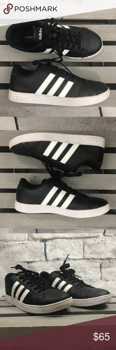 ebdedb7a3062 Shop Women s adidas Black White size 7 Sneakers at a discounted price at  Poshmark.