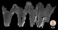 Modern Technology Unlocks Secrets of a Damaged Biblical Scroll