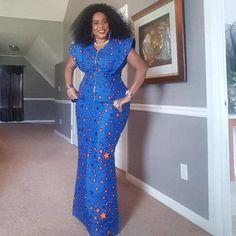 Best African Dresses, African Fashion Ankara, Latest African Fashion Dresses, African Print Dresses, African Attire, African Print Dress Designs, African Print Clothing, Traditional African Clothing, Ankara Long Gown Styles