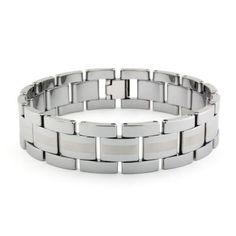 Hercules Tungsten Carbide Mens Bracelet #TitaniumJewelry