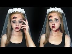 The new zombie bride | HALLOWEEN how-to makeup tutorial - YouTube