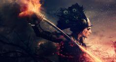 Fire + Blood / I / Placid Fury by Cl0ud-Nine.deviantart.com on @DeviantArt