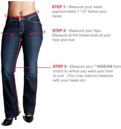 PZI jeans... the waist hip proportions are awesome!!! finally, jeans cut for those of us with curves!