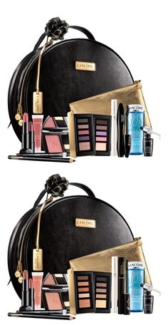 Lancome Holiday 2015 Beauty Boxes, received this and it is amazing (cool), I will order a Warm as well, love the lipstick (pink nude) and juicy tube, Hypnose Drama and XL Booster, blush, BiFacial full size!