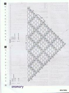 ganchillo crochet y tricot...anamary: CHAL