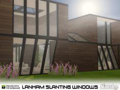 mutske's Lanham Slanting Windows