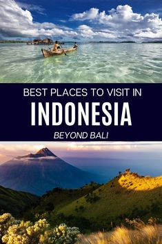 Looking for the best places to visit in Indonesia? Check out this ultimate list and start planning your Indonesia holiday!  There is a map included in the post, so it will be easier for you to plan a trip and get inspired. There are so many awesome Indonesia travel destinations that you just NEED TO see these beautiful photos.