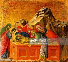 Duccio, Burial of Christ, 1308-1311