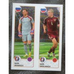 Football Soccer Sticker Panini UEFA Euro 2016 #156 Russia