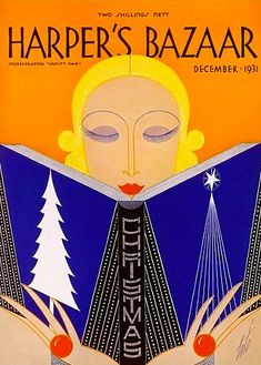 phasesphrasesphotos:  Harper's Bazaar December 1931
