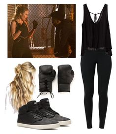 """""""Cami / camille o'connell sport outfit - the originals"""" by shadyannon ❤ liked on Polyvore featuring NIKE, Vans and Elisabeth Weinstock"""