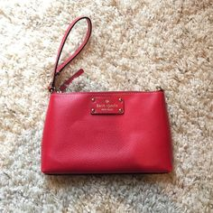Kate Spade red clutch never used clutch handbag from Kate Spade kate spade Bags Clutches & Wristlets