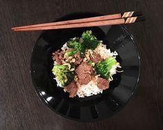 nautaa ja parsakaalia kiinalaisittain Ethnic Recipes, Food, Essen, Meals, Yemek, Eten