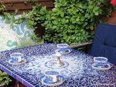 Kesäisiä mosaiikkitöitä - MOSAIIKKIMYYMÄLÄ - Mosaiikkitarvikkeiden verkkokauppa