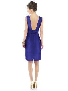 Bridesmaid Dress Option 3 - back