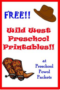 FREE Wild West preschool printables Source by Preschool Lesson Plans, Free Preschool, Preschool Themes, Preschool Printables, Preschool Education, Preschool Class, Teaching Activities, Teaching Tips, Free Printables