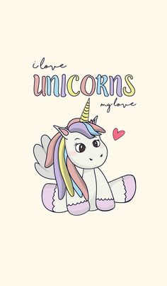 I love the unicorn. Unicorn is pretty bright. ><
