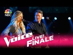 """The Voice 2017 Lauren Duski and Blake Shelton - Finale: """"There's a Tear in My Beer"""" - YouTube"""