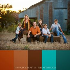 Colorful Family Picture Outfit Ideas | Fall Family Portrait Clothing ideas {San Antonio Family Photographer}