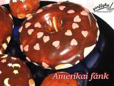 Garffyka: Amerikai fánk, olaj nélkül Baked Doughnuts, Oven Baked, Baking, Food, Kiss, Bakken, Essen, Meals, Backen