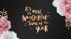 wonderful time of the year desktop wallpaper