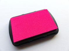 Stempelkissen Neon pink ink pad  von frau zwerg auf DaWanda.com