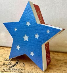 4th of July Star box