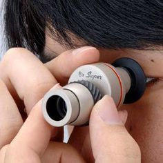 Spying will soon become a great hobby for geeks thanks to all the modern interesting spying cameras and gadgets. Look at this Super Mini Spy Scope. It is so small, handy yet so powerful a gadget. Top Gadgets, High Tech Gadgets, Gadgets And Gizmos, Baby Gadgets, Geek Gadgets, Travel Gadgets, Electronics Projects, Electronics Gadgets, Cool Technology