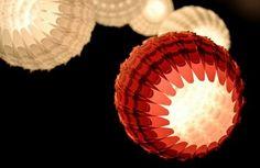 papierlampen pendelleuchten uniques design