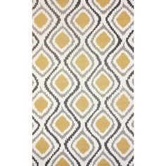 Found it at AllModern - Mosca Hand-Woven Sunflower Area Rug