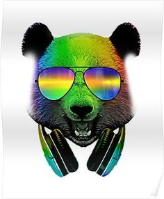 Dj Panda, Panda Bear, Wallpaper Backgrounds, Wallpapers, Electronic Music, Superhero, Animals, Bears, Community
