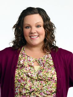 Melissa McCarthy..shes soo funny...possible Halloween costumes...me and billy=mike and Molly