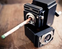 Vintage Camera Pencil Sharpener | Cool Material