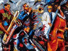 Abstract Jazz by Debra Hurd