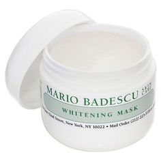 $24 BUY NOW Mario Badescu is a Kardashian-Jenner fave, and, tell us, have you ever seen a pimple on Kylie or Kim? Didn't think so. Infused with kojic acid, licorice and grape extract, old acne scarring dulls down until it vanishes, creating a balanced, clear complexion.