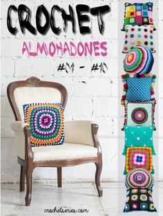 Get your digital copy of Crochet Almohadones Magazine - Issue 1 issue on Magzter and enjoy reading it on iPad, iPhone, Android devices and the web. Rubrics, Armchair, Dining Chairs, Wall, Furniture, Ipad, Android, Windows 8, Magazine