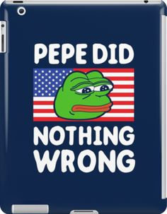 Pepe Did Nothing Wrong