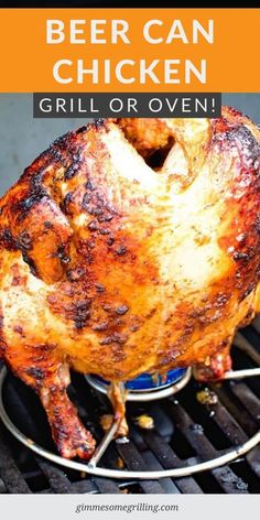 Beer Can Chicken Rub Recipe, Beer Can Chicken Grill, Can Chicken Recipes, Canned Chicken, Turkey Recipes, Rub Recipes, Beer Recipes, Grilling Recipes, Grilling Ideas