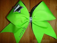 Cheer bow by TonTonsBowtique on Etsy
