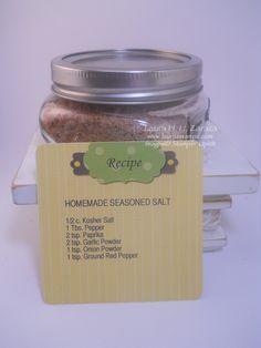 Seasoned Salt Recipe-Digital card idea by stampinggoose - Cards and Paper Crafts at Splitcoaststampers