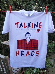 Talking Heads T-Shirt [Rose Blake]